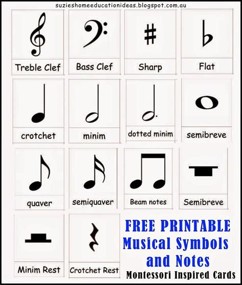 printable note cards pdf introducing musical symbols and notes note cards free