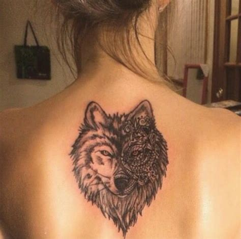 wolf back tattoo 17 best ideas about mandala back on