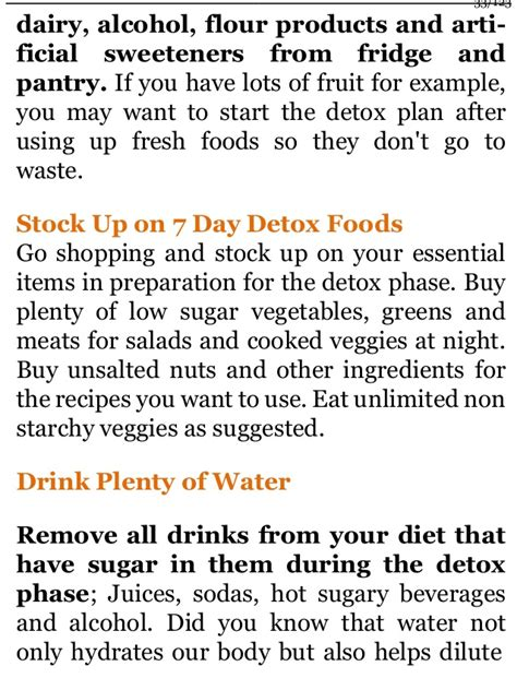 10 Day No Sugar Detox Diet by Diet Plan No Sugar No Flour Diet Plan