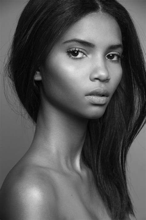 models with long faces 17 best ideas about black models on pinterest black