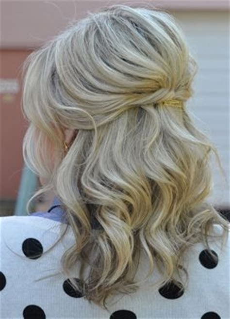 Wedding Hairstyles Half Up Medium Length by 25 Best Ideas About Bridesmaid Hair On