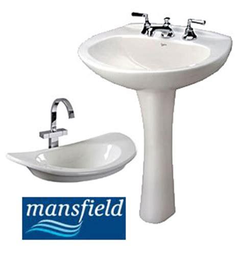 mansfield bathroom sinks advanced bath kitchen sinks