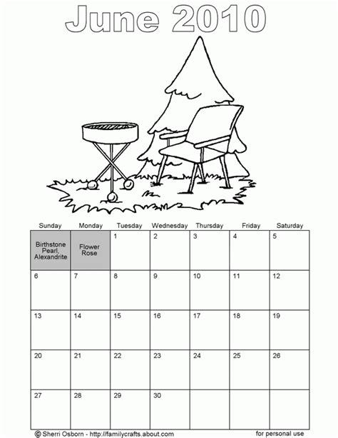 june color free printable coloring pages june coloring home