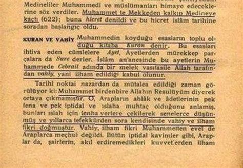 by ve din slam nokta i nazardan bir deerlendirme 1931 de okutulan tarih kitaplarında muhammed nasıl
