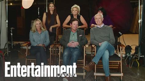 family ties ew reunions entertainment weekly