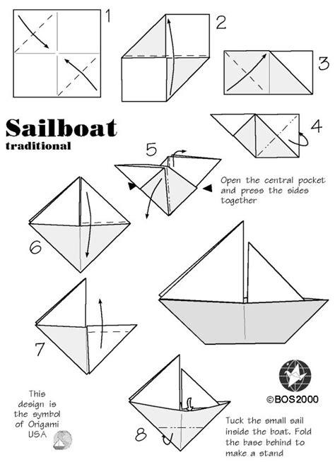 Origami Simple Boat - best 25 origami boat ideas on origami boat