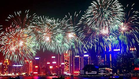 new year fireworks hong kong time 2017 cny fireworks on harbor hong kong