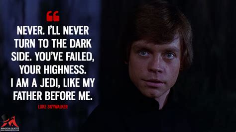 luke skywalker quotes wars quotes the is strong magicalquote