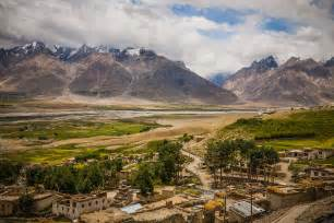 Landscape Photography In India Mountain Landscape A View From Karsha Monastery Karsha