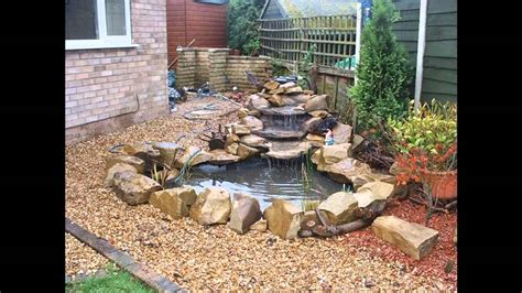 beautiful garden waterfall design ideas