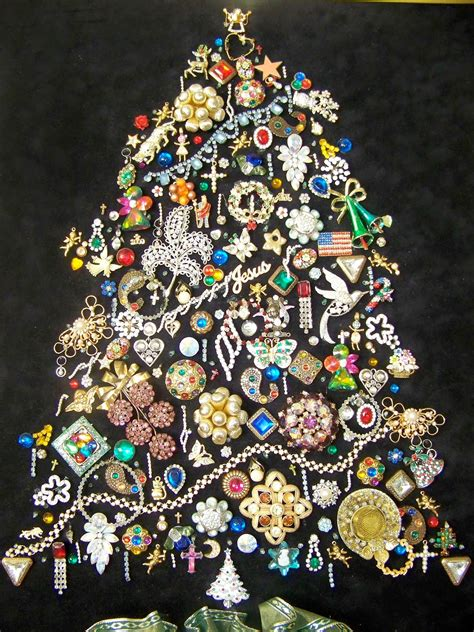 the art of up cycling christmas trees made from recycled