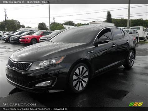 Black On Black Kia Optima 2012 Kia Optima Sx In Black Photo No 62121831