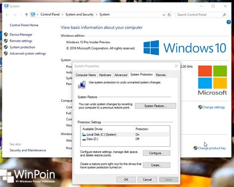 membuat dvd recovery windows 10 cara membuat restore point di windows 10 winpoin