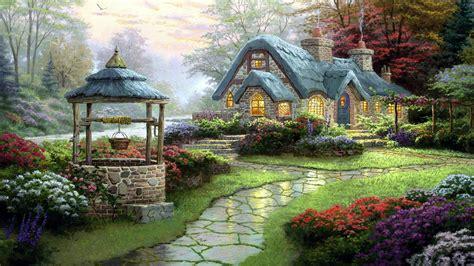 free cottage wallpaper pixelstalk net