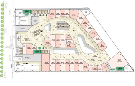 floor plan of a shopping mall 05 parmis shopping mall floor plan pinteres