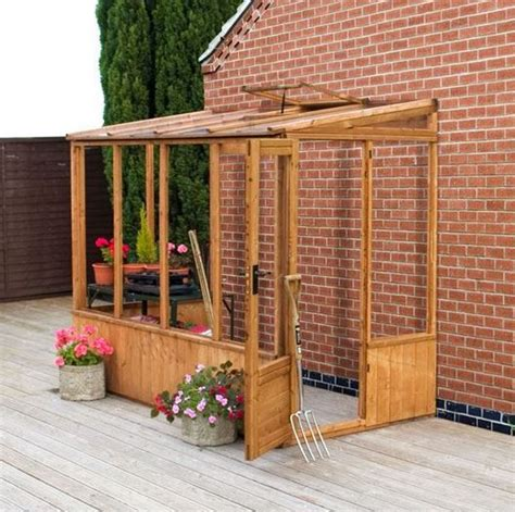 8 X4 Shed by 8 X 4 Waltons Lean To Pent Wooden Greenhouse What Shed