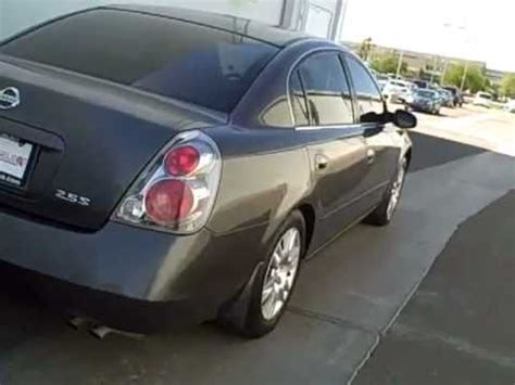 grey nissan altima coupe n6664a 2005 nissan altima gray youtube