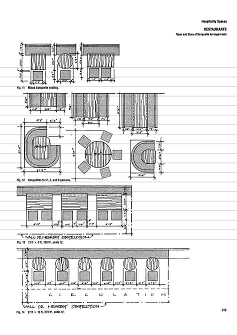 cafe design guidelines types and size of banquette arrangements iremozn cafe