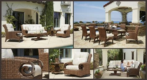 Patio Renaissance Patio Renaissance Antigua Wicker Outdoor Furniture