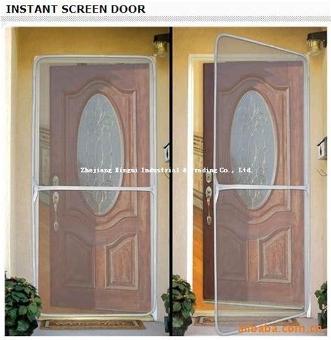 Magnet Screen Door by Diy Instant Screen Door Products Magnetic Door Mesh