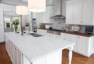 White Kitchen Countertops Using Marble For Kitchen Countertops Design Bookmark 3181