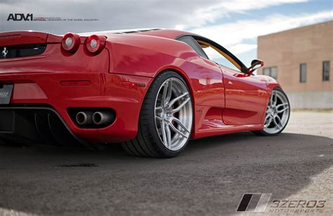 wheels ferrari red ferrari f430 adv005 m v2 sl wheels adv 1 wheels