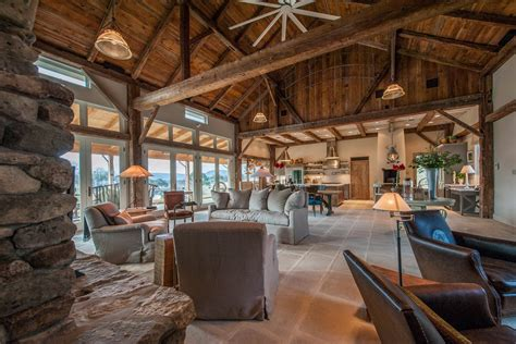 barn home interiors beautiful barn home with large glasswall barns as homes