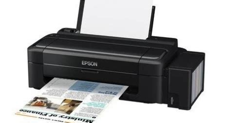 Epson L by Buy Epson L Series L300 Single Function Inkjet Printer
