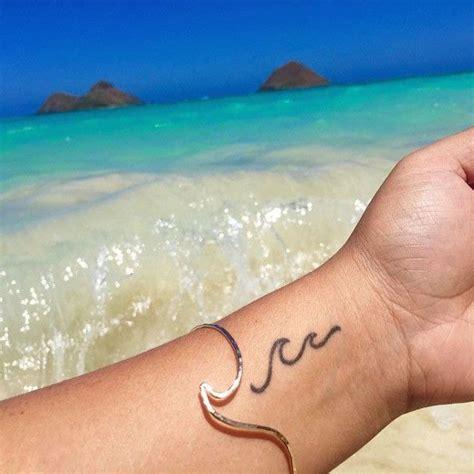 wave wrist tattoo 25 best wave tattoos ideas on