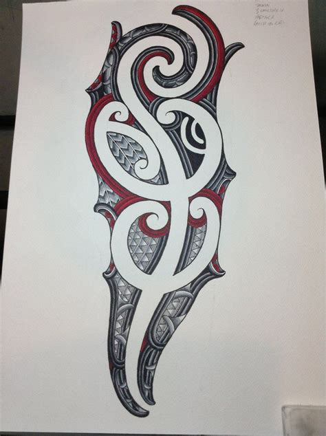 ta tattoo artists ta moko designs ta moko sleeve design by jayme watene