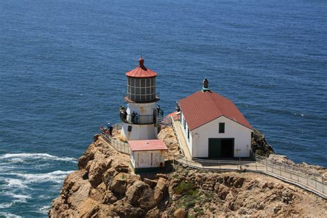 Point Reyes Light House by Point Reyes Lighthouse Inverness Ca California Beaches