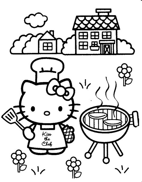 20 free printable hello kitty coloring pages fit to print