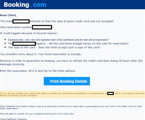 how to make hotel reservation without credit card booking warning leads to tons of malware help