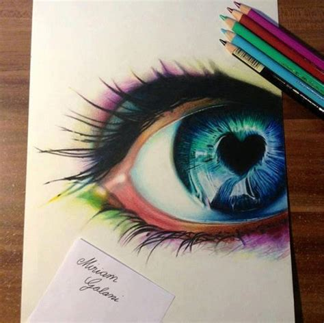Studios Cool Eyes And Beautiful Eyes On Pinterest Drawing Top Beautiful Color Images