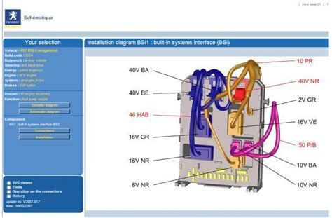 wiring diagram peugeot 206 sw images wiring diagram