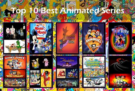 animated best top 10 best animated series by darkwinghomer on deviantart