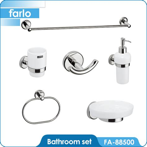 farlo wall mounted bathroom accessory set buy bathroom