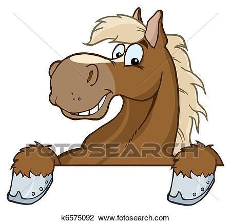 cavallo clipart clipart cavallo mascotte cartone animato testa