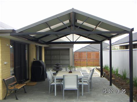 gable patio designs gable patios patios perth the patio guys decking and