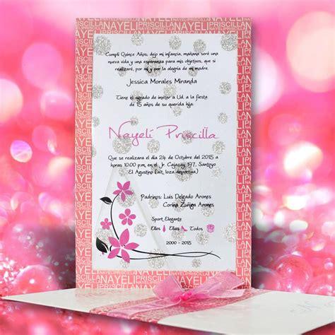 imagenes animadas de xv años tarjeta de invitaci 243 n para quince a 241 os qn 6093 angels