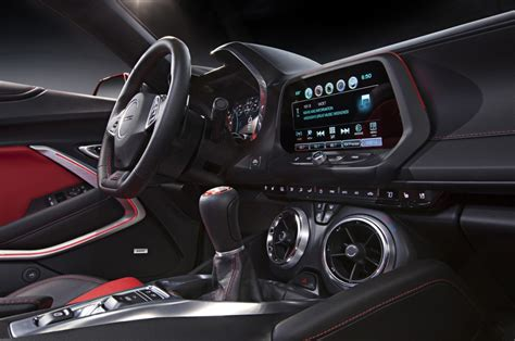 Camaro Interiors by 2016 Chevrolet Camaro Interior Detailed Autoevolution