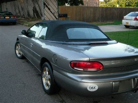 1999 Chrysler Sebring Jxi Convertible by Find Used 1999 Chrysler Sebring Jxi Convertible 2 Door 2