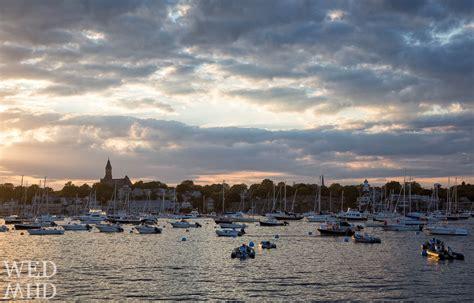 boat shop marblehead sunset glow over marblehead harbor marblehead ma