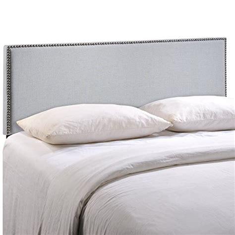 Gray Headboard King by Lexmod Region King Nailhead Upholstered Headboard King Gray A Luxury Bed Silk Sheets