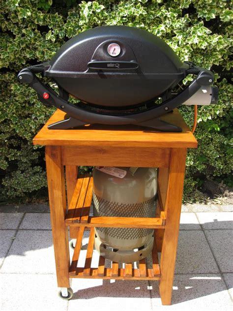 weber grill wagen angrillen 2011 q220 grillforum und bbq www