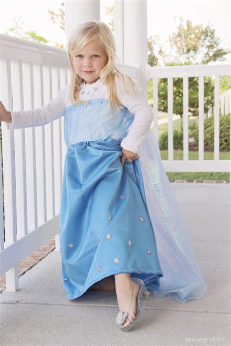 Elsa Handmade Costume - 50 diy frozen costumes lines across
