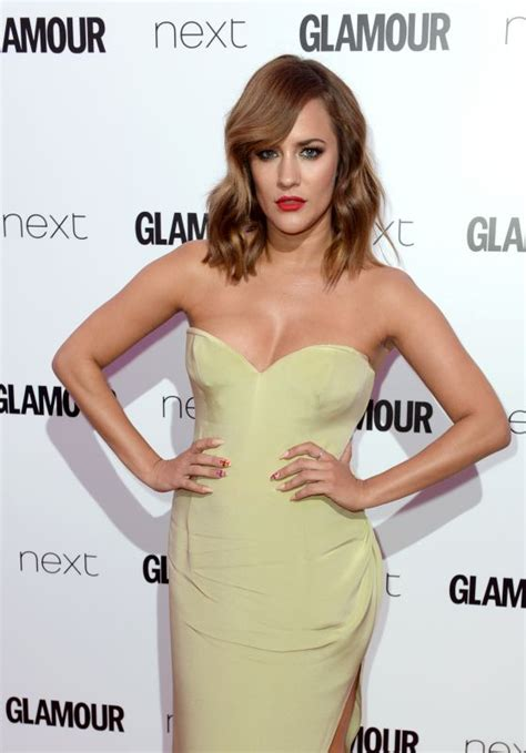 Glamours Of The Year Awards by Caroline Flack Of The Year Awards 2016 In