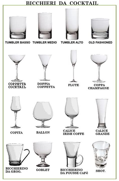 tipi di bicchieri la festa dei bicchieri