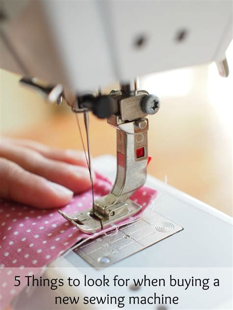 what to look for when buying a new house 5 things to look for when buying a new sewing machine the spring mount 6 pack