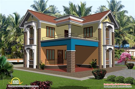 two storey house plan kerala style simple two story house 2 story kerala home design 2080 sq ft home appliance